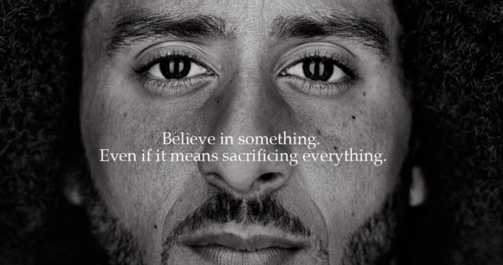 Nike campaign with Colin Kaepernick